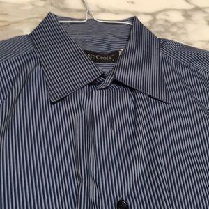 ST. Croix Men's Dress Shirt LGE